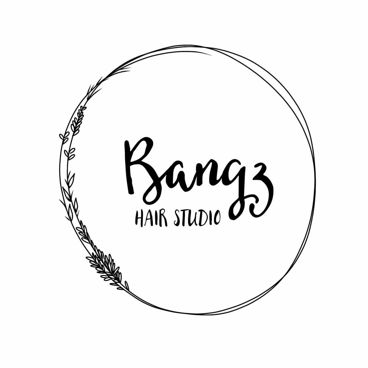 Logo Bangz Hair Studio Venice Florida