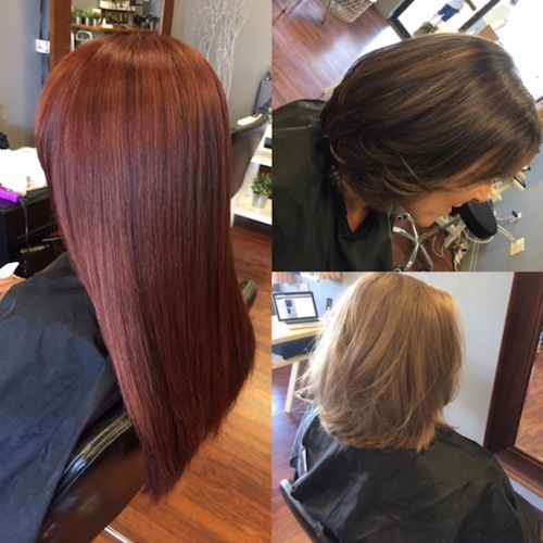 Hair cut and Color by Sophie in Venice FL